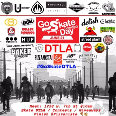 Go Skateboarding Day Event