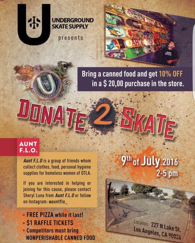 Donate 2 Skate