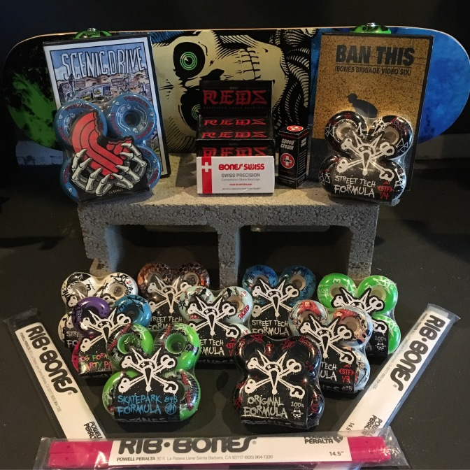 Restock Bones Wheels and bearings.