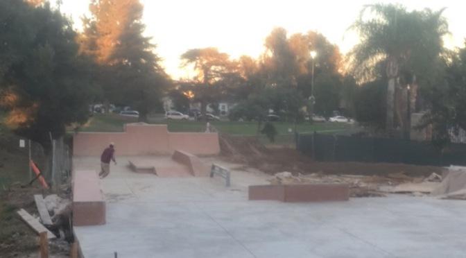 Rosemead Skate Park is looking good!!!