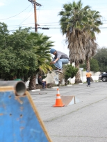 shop rider Will Martinez