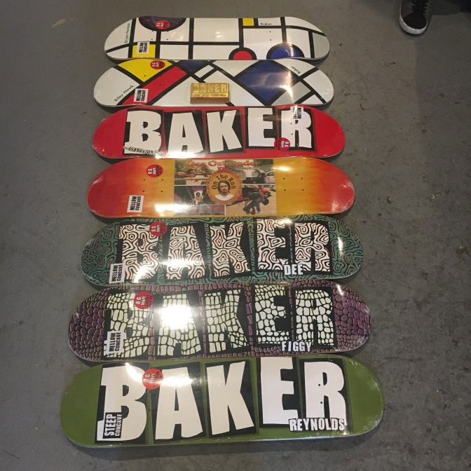 Baker Boys Incoming! Illegal Civ * Baker * Death Wish * Shake Junt * Death Lens * Heroin Skateboards