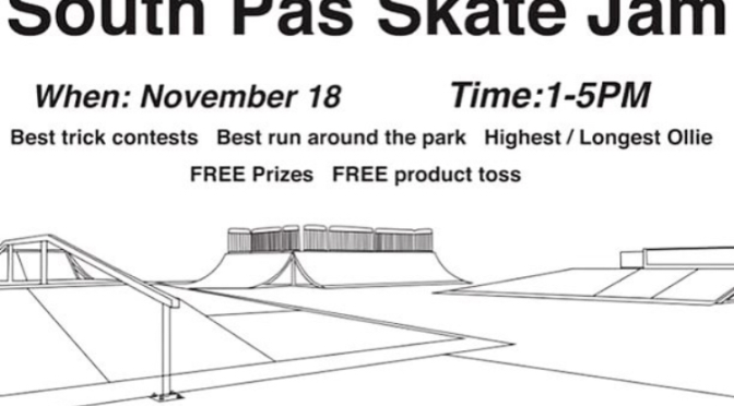 Skate Jam This Saturday!