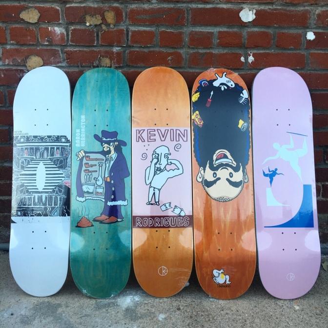 Polar Skateboards Restock